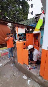 distributor palang parkir bekasi