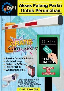 Palang Parkir Portal Otomatis Untuk Perumahan