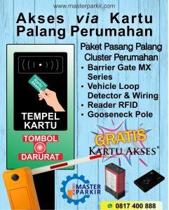 Paket Palang Parkir Portal Otomatis di Cikarang