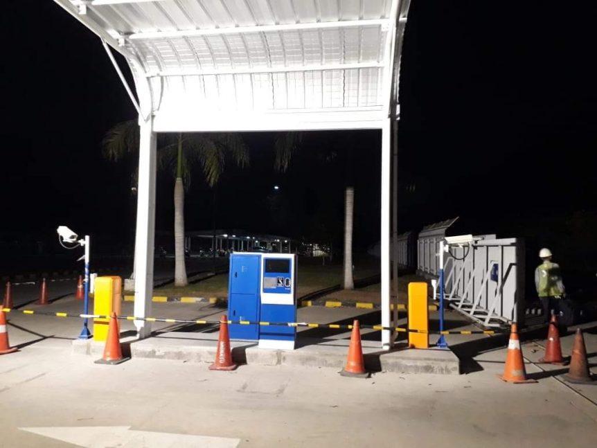 dispenser parkir murah di Jakarta