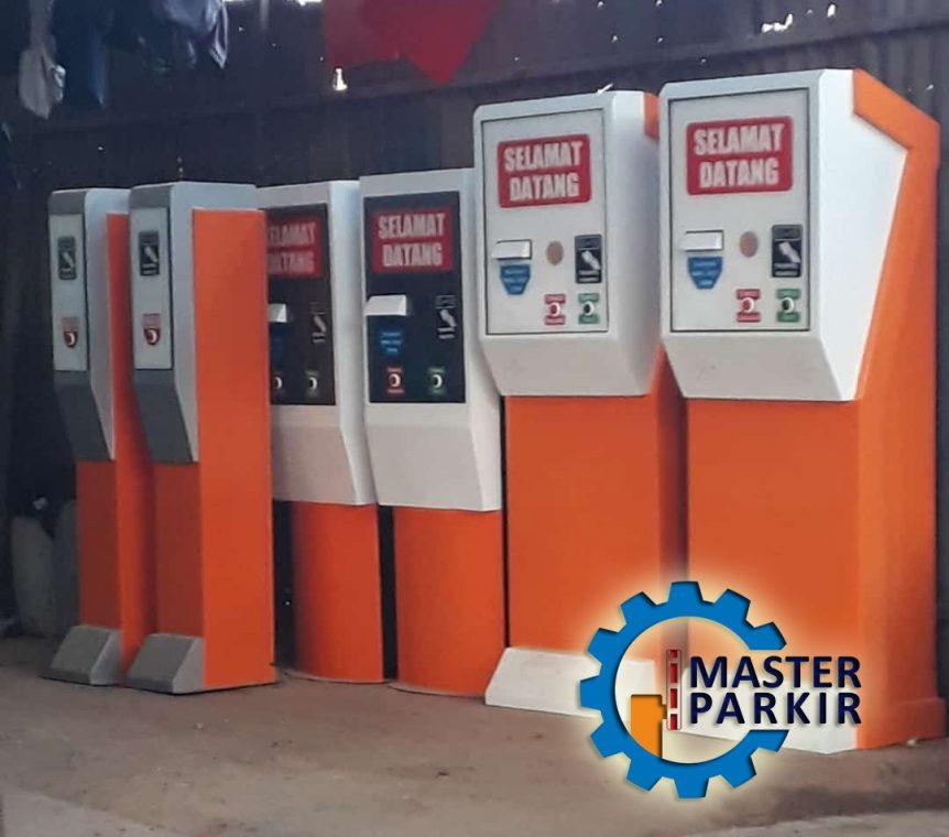 Mesin parkir otomatis di Bekasi