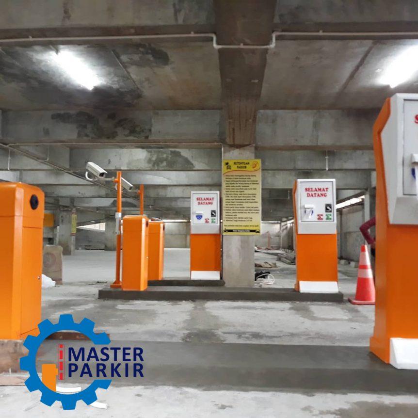Mesin parkir otomatis di Jakarta